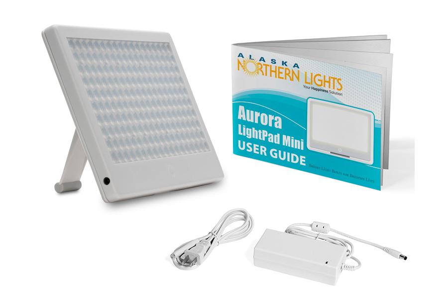 aurora lightpad mini bright light therapy box alaska. Black Bedroom Furniture Sets. Home Design Ideas