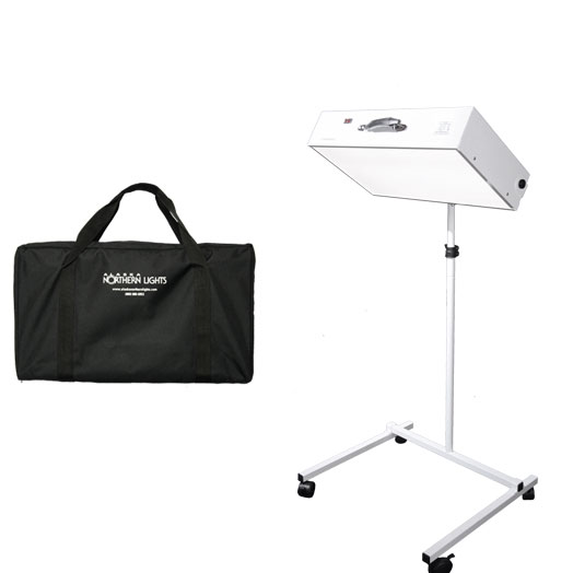 NorthStar 10,000 Light Therapy Box Floor Stand Combo